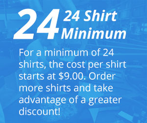 Mid Florida Sportswear Custom Embroidery Daytona Screen Printing Callout 12 Shirt Minimum